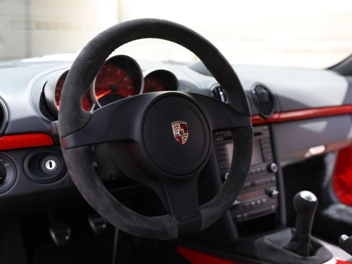 Porsche Boxster PORSCHE 987 BOXSTER SPYDER 320CV BOITE MECANIQUE AVEC 181 KMS D ORIGINE !!!! Rouge Indien - 53