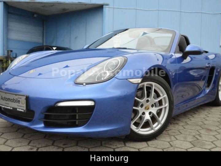 Porsche Boxster PORSCHE BOXSTER 2,7I 265CV BVA PKD/PACK BOSE/GARANTIE 12 MOIS bleu - 1