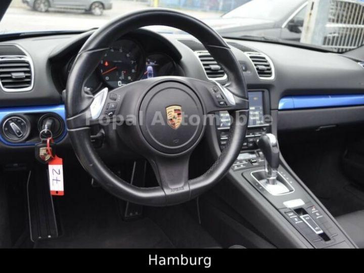 Porsche Boxster PORSCHE BOXSTER 2,7I 265CV BVA PKD/PACK BOSE/GARANTIE 12 MOIS bleu - 2