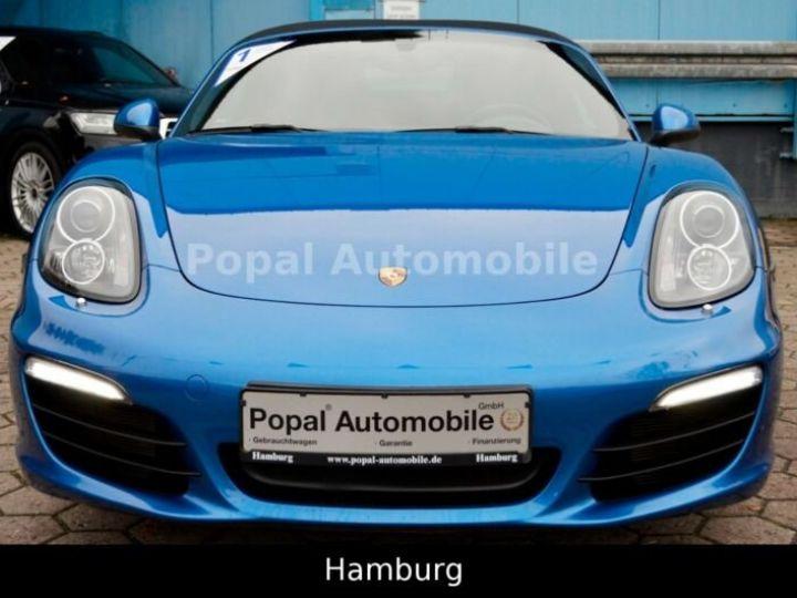 Porsche Boxster PORSCHE BOXSTER 2,7I 265CV BVA PKD/PACK BOSE/GARANTIE 12 MOIS bleu - 8