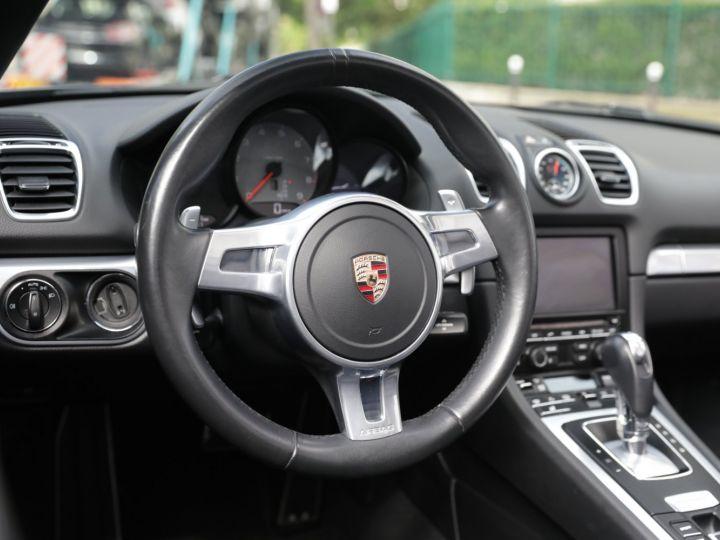Porsche Boxster PORSCHE BOXSTER 981 S PDK Noir - 17