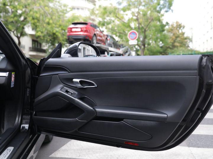 Porsche Boxster PORSCHE BOXSTER 981 S PDK Noir - 26