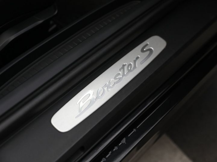 Porsche Boxster PORSCHE BOXSTER 981 S PDK Noir - 30