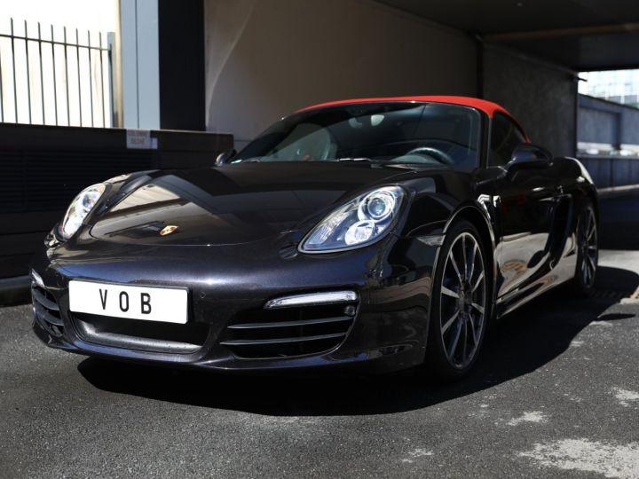 Porsche Boxster PORSCHE BOXSTER 981 S PDK 315 CV /PSE/ CHRONO /PASM / FULL /FRANCE Noir - 1
