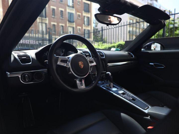 Porsche Boxster PORSCHE BOXSTER 981 S PDK 315 CV /PSE/ CHRONO /PASM / FULL /FRANCE Noir - 24