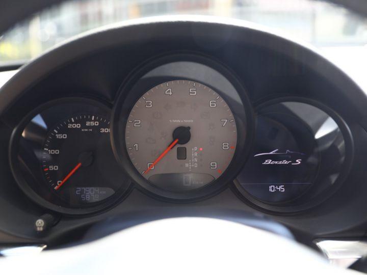 Porsche Boxster PORSCHE BOXSTER 981 S PDK 315 CV /PSE/ CHRONO /PASM / FULL /FRANCE Noir - 29