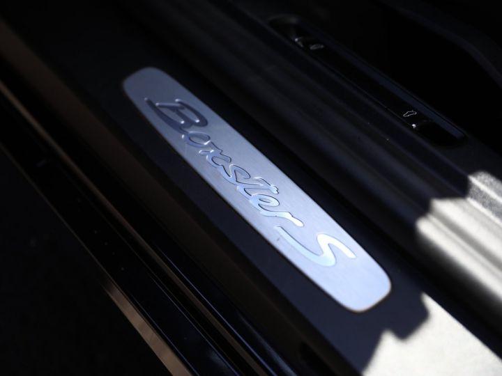 Porsche Boxster PORSCHE BOXSTER 981 S PDK 315 CV /PSE/ CHRONO /PASM / FULL /FRANCE Noir - 34