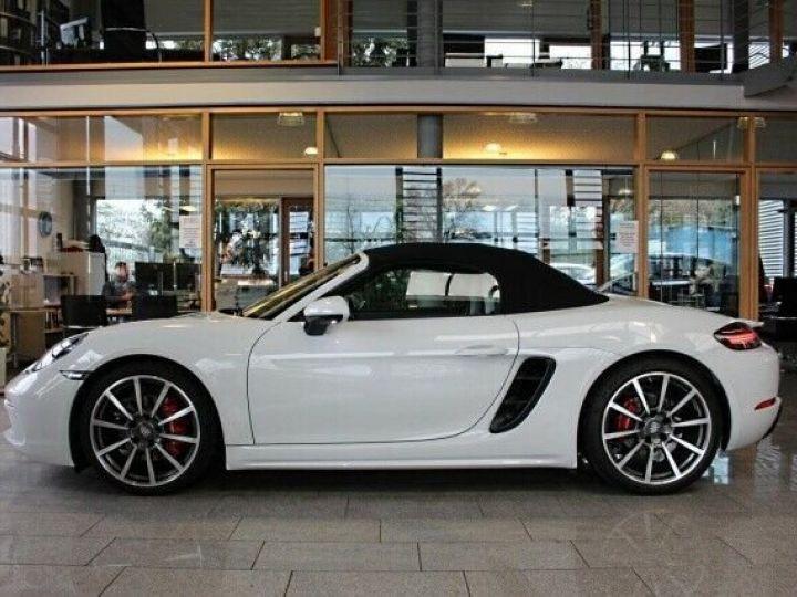 Porsche Boxster Porsche Boxster S 718  2,5L 350 cv PDK7/Garantie 12 Mois Blanc - 6