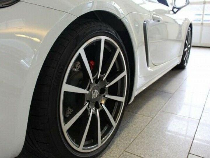 Porsche Boxster Porsche Boxster S 718  2,5L 350 cv PDK7/Garantie 12 Mois Blanc - 9