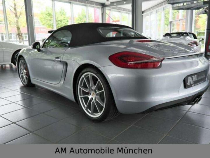 Porsche Boxster Porsche Boxster S PDK Sportabgas Vollleder PASM / GARANTIE 12 MOIS  Gris  - 5
