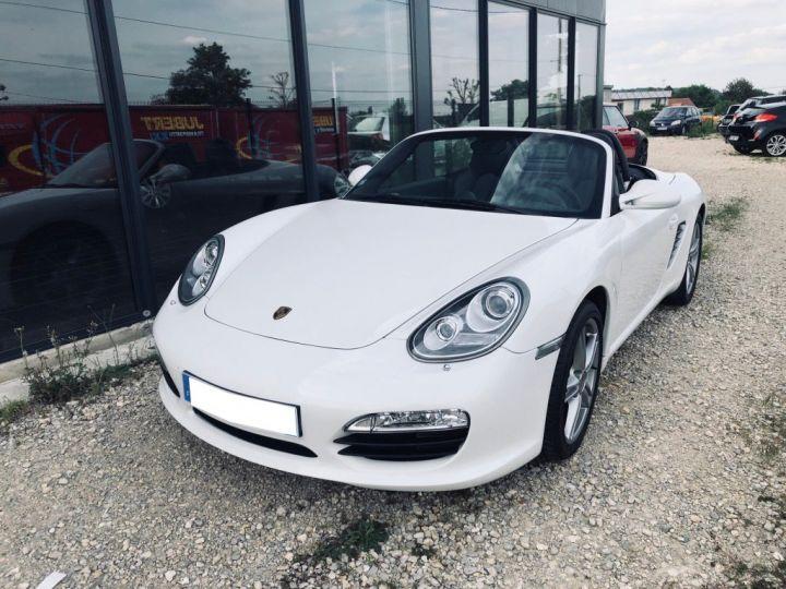 Porsche Boxster S Blanc - 1