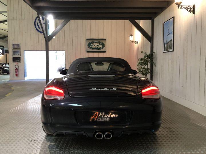 Porsche Boxster S 987 3.4 310 CV BV6 Noir - 4