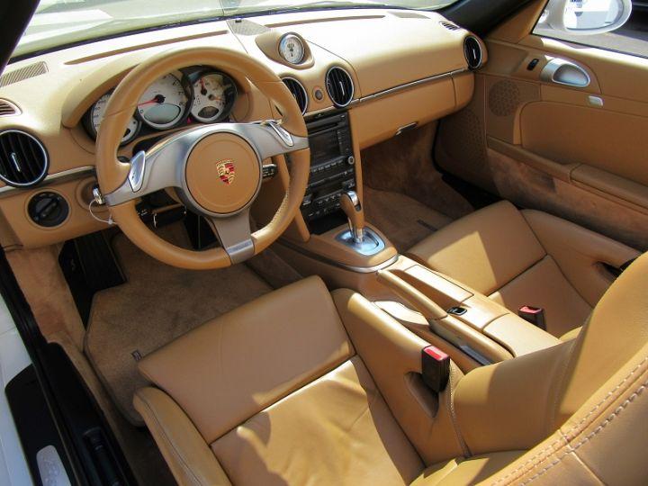 Porsche Boxster S (987) 3.4L 310CH PDK Blanc Occasion - 2