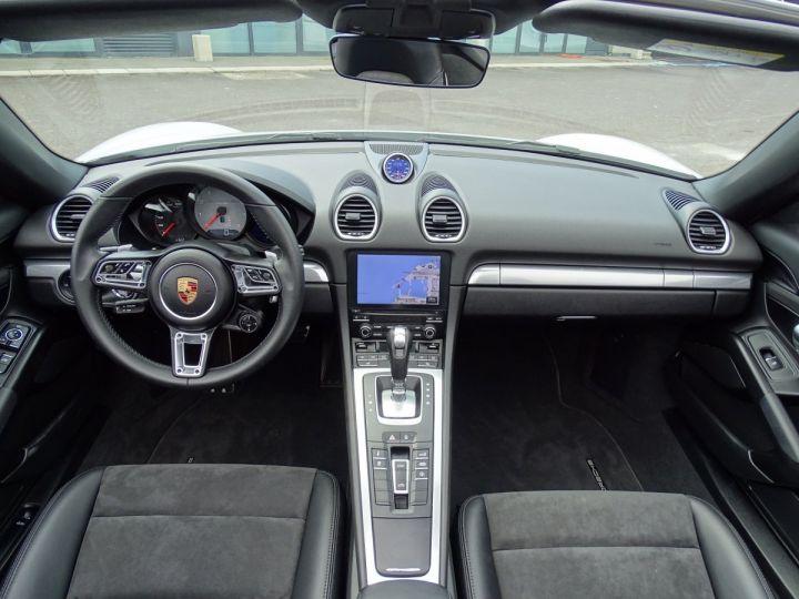 Porsche Boxster S TYPE 718 PDK 350 CV - MONACO  Blanc - 9