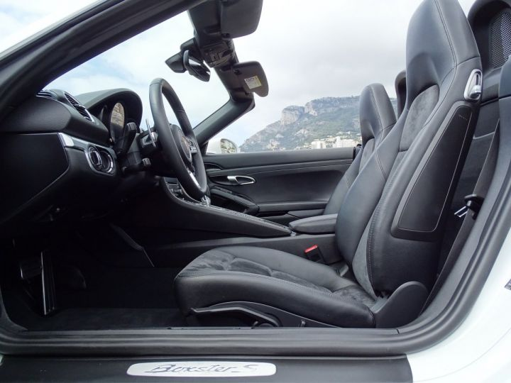 Porsche Boxster S TYPE 718 PDK 350 CV - MONACO  Blanc - 13