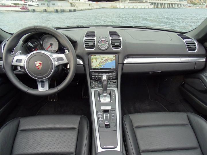 Porsche Boxster S TYPE 981 PDK 315 CV - MONACO Noir - 8