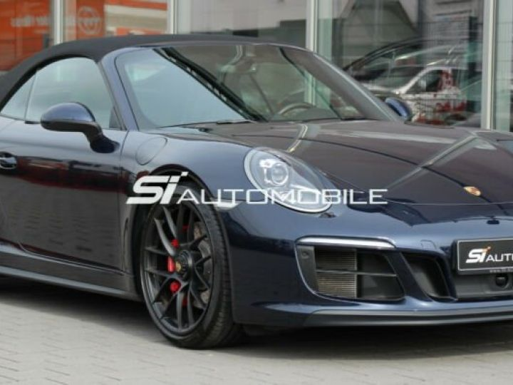 Porsche Carrera GT Porsche 911 991 Carrera 4 GTS Cabriolet / 1 ere main / 18000Kms / Bleu Peinture métallisée - 5