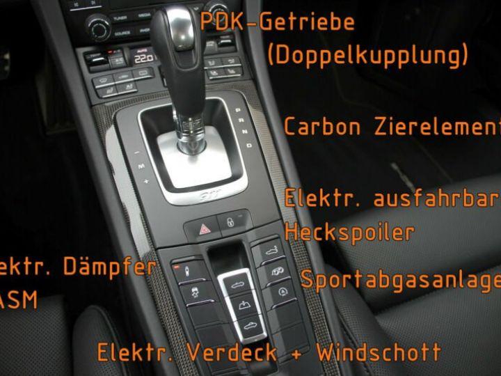 Porsche Carrera GT Porsche 911 991 Carrera 4 GTS Cabriolet / 1 ere main / 18000Kms / Bleu Peinture métallisée - 12