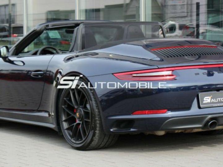 Porsche Carrera GT # Porsche 911 991 Carrera 4 GTS Cabriolet # 1ere Main # Bleu Peinture métallisée - 2