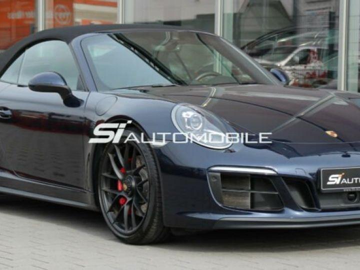 Porsche Carrera GT # Porsche 911 991 Carrera 4 GTS Cabriolet # 1ere Main # Bleu Peinture métallisée - 5