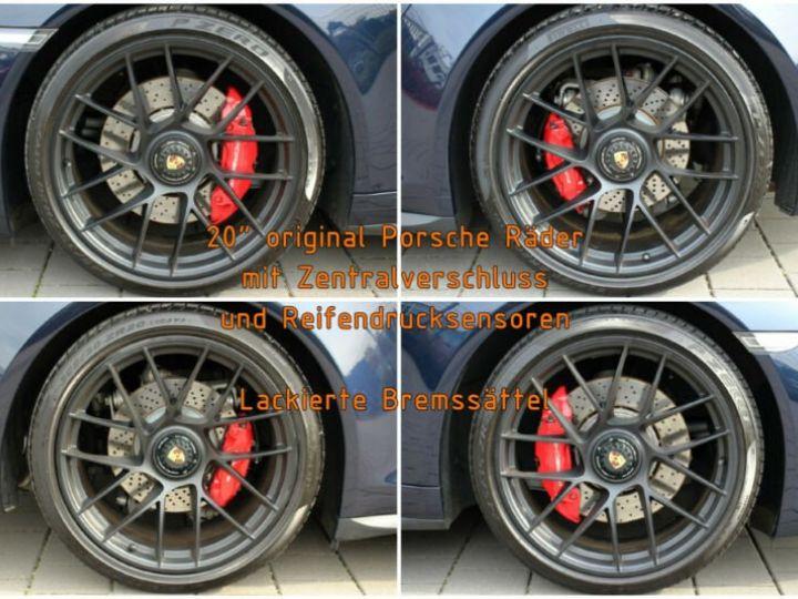 Porsche Carrera GT # Porsche 911 991 Carrera 4 GTS Cabriolet # 1ere Main # Bleu Peinture métallisée - 15