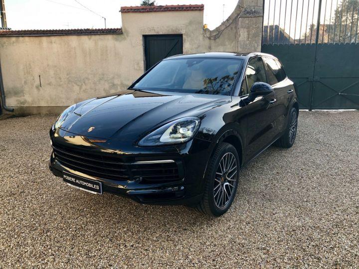 Porsche Cayenne Noir Intense Métallisé - 1