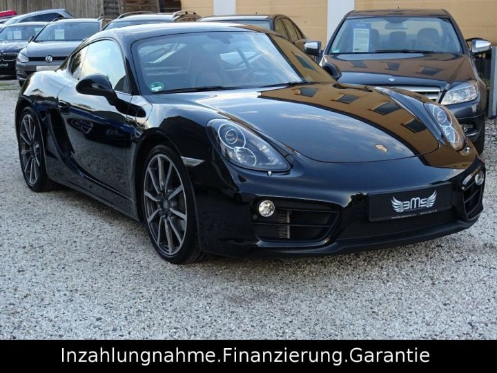 Porsche Cayenne Noir - 1