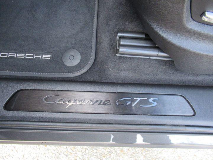 Porsche Cayenne 4.0 V8 460CH GTS EURO6D-T-EVAP-ISC Gris Fonce - 17