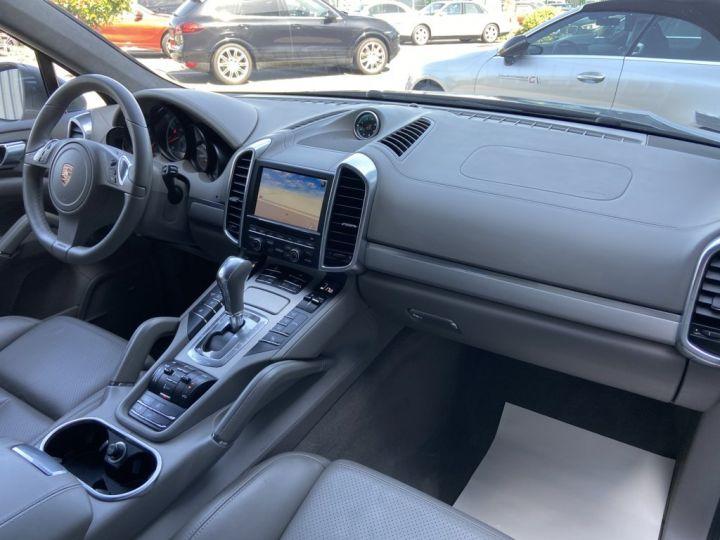 Porsche Cayenne 4.8 V8 TURBO 500ch TIPTRONIC S GRIS FONCE - 9