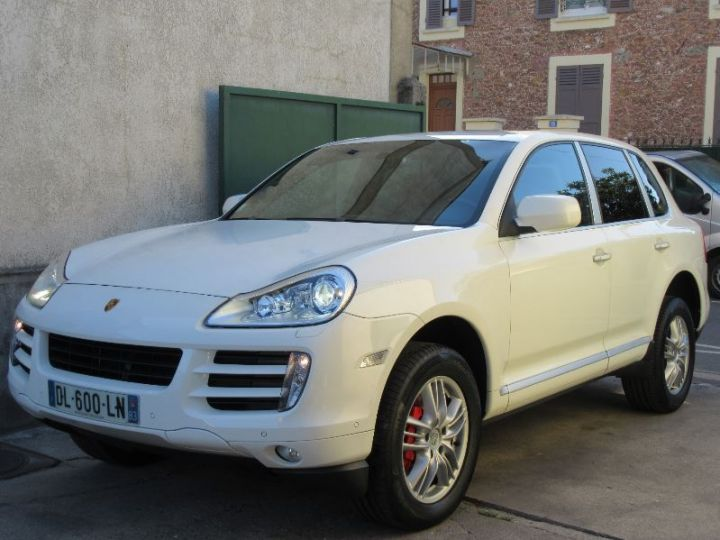 Porsche Cayenne 955 4.8L V8 385CH BLANC Occasion - 1