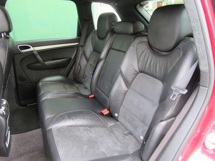Porsche Cayenne 955 4.8L V8 405CH TIPTRONIC ROUGE Occasion - 6
