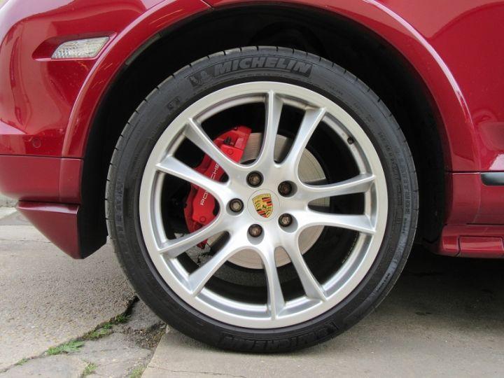Porsche Cayenne 955 4.8L V8 405CH TIPTRONIC ROUGE Occasion - 14
