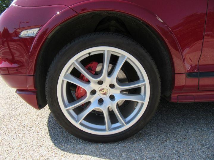 Porsche Cayenne (955) 4.8L V8 405CH TIPTRONIC Rouge Occasion - 13