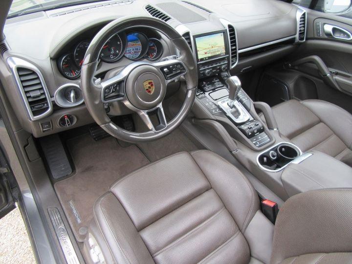 Porsche Cayenne (958) 3.0 262CH DIESEL Gris Fonce Occasion - 4