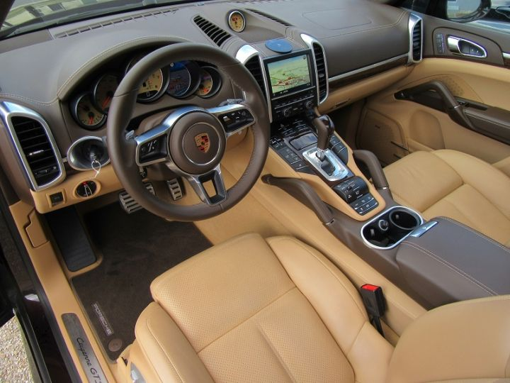 Porsche Cayenne (958) 3.6 440CH TIPTRONIC 8 Brun Mahagoni Occasion - 2