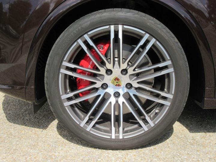 Porsche Cayenne (958) 3.6 440CH TIPTRONIC 8 Brun Mahagoni Occasion - 14