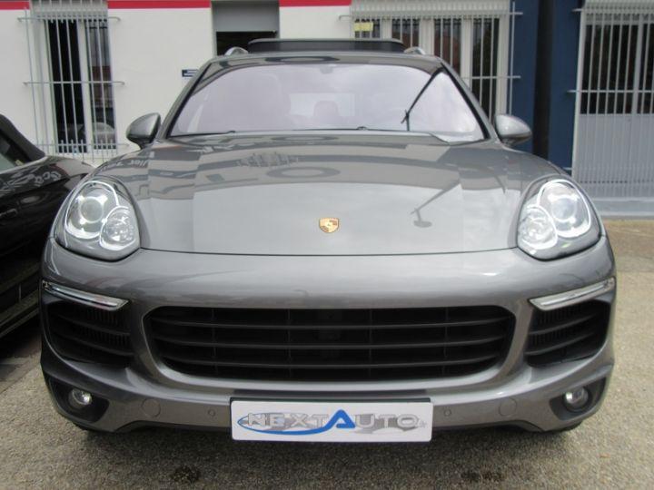 Porsche Cayenne (958) 4.2 385CH DIESEL Gris Fonce Occasion - 6