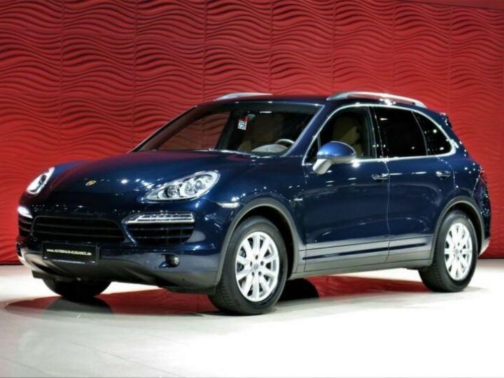 Porsche Cayenne *BOSE*NAVI*XENON* Bleu Peinture métallisée - 1