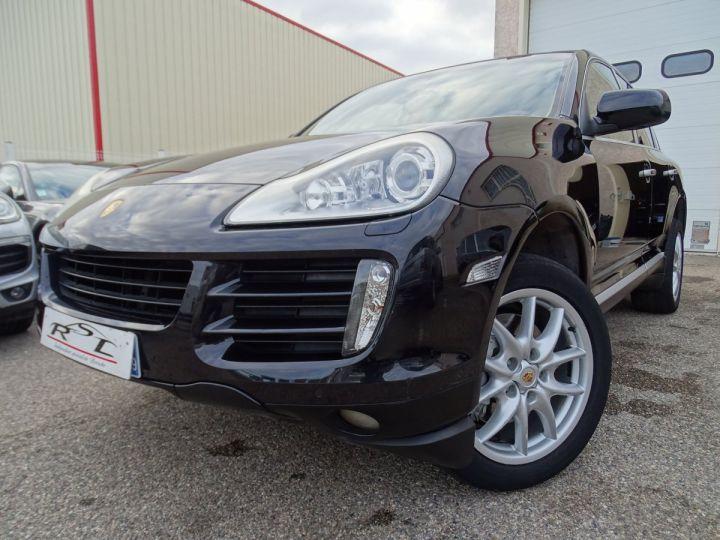Porsche Cayenne Cayenne S 4.8L 385PS Tipt/PASM PCM Jtes 19 PDC BIXENON ORD noir metallisé - 1