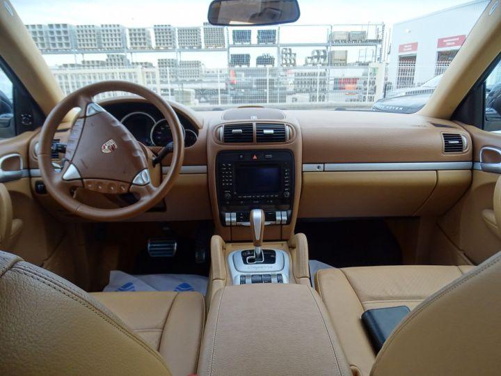 Porsche Cayenne Cayenne S 4.8L 385PS Tipt/PASM PCM Jtes 19 PDC BIXENON ORD noir metallisé - 8
