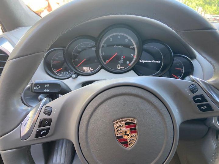 Porsche Cayenne CAYENNE TURBO II 500CV Noir - 8
