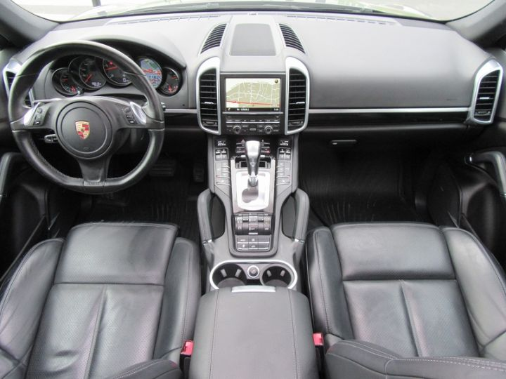Porsche Cayenne DIESEL (958) 3.0L V6 TDI 245CH Gris Fonce Occasion - 9