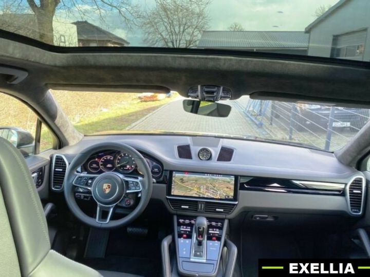Porsche Cayenne E-HYBRID COUPE  NOIR PEINTURE METALISE  Occasion - 4