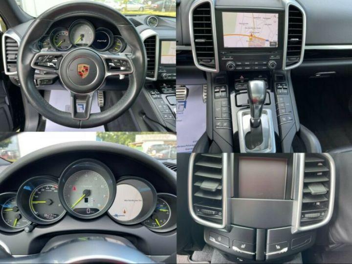 Porsche Cayenne Hybride Noir métallisée  - 13
