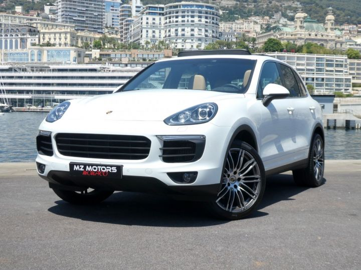 Porsche Cayenne II (2) 3.0 V6 D 262 TIPTRONIC  Blanc Pur Occasion - 2