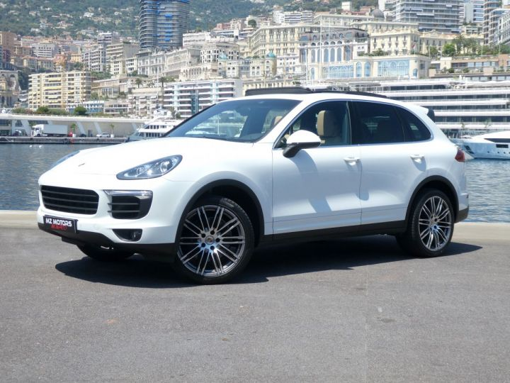 Porsche Cayenne II (2) 3.0 V6 D 262 TIPTRONIC  Blanc Pur Occasion - 3