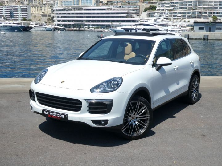 Porsche Cayenne II (2) 3.0 V6 D 262 TIPTRONIC  Blanc Pur Occasion - 4