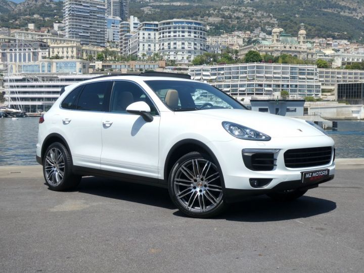 Porsche Cayenne II (2) 3.0 V6 D 262 TIPTRONIC  Blanc Pur Occasion - 5