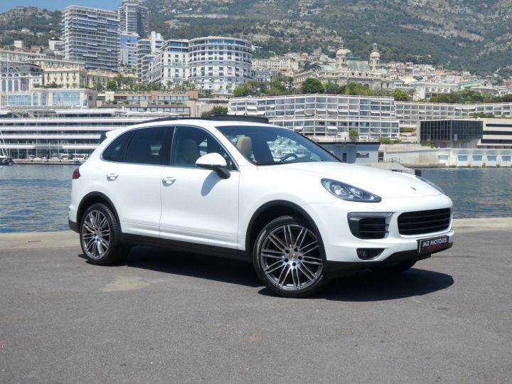 Porsche Cayenne II (2) 3.0 V6 D 262 TIPTRONIC  Blanc Pur Occasion - 7