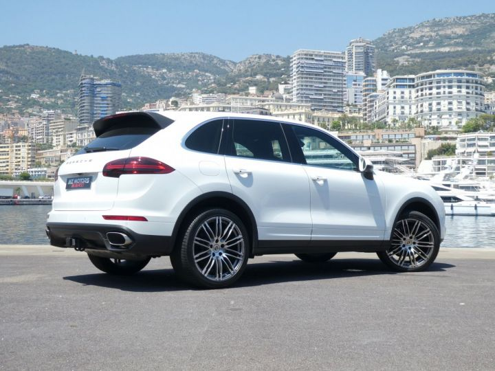 Porsche Cayenne II (2) 3.0 V6 D 262 TIPTRONIC  Blanc Pur Occasion - 10